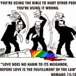 Don't use the bible to hurt other people